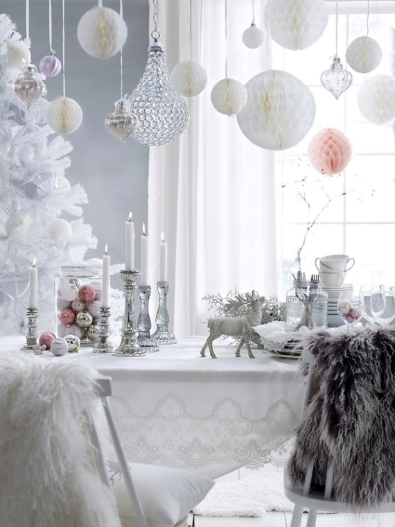 decoration ideas for living room table chaise lounge a little more festive scandinavian christmas decor - part ...