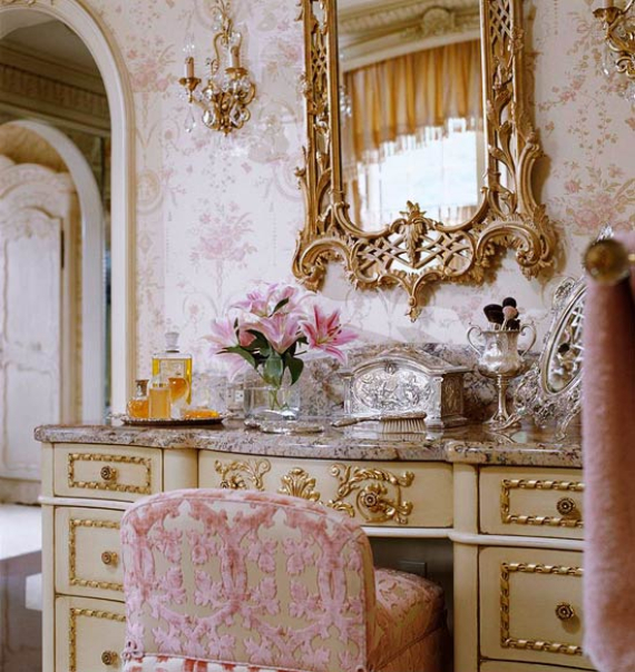 Romantic French Flair Rooms And Decorating Ideas Family
