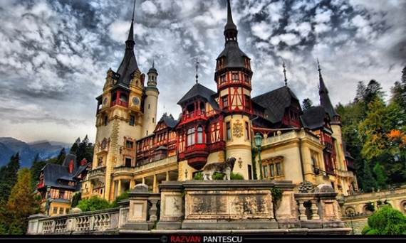 Kings Fall Wallpaper Spectacular Peles Castle In Romania Part 1 Family