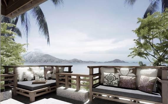 tropical living room in malaysia modern sofa the perfect getaway gaya island unique and resort