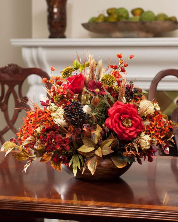 33 Easy  Warm Fall Decorating Ideas  family holidaynet