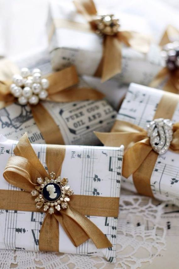 45 Creative Gift Decoration Wrapping Ideas Family