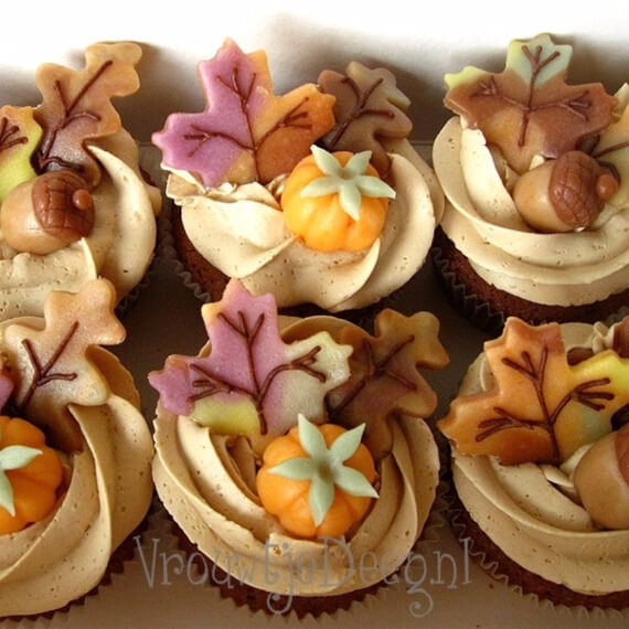 55 Cute Fall Amp Halloween Heavenly Holiday Desserts