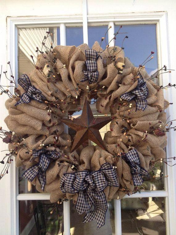 DIY Burlap Wreath ideas for every holiday and season  family holidaynetguide to family