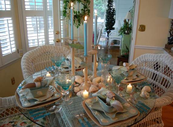 27 Inspiring Coastal Thanksgiving Table Setting and