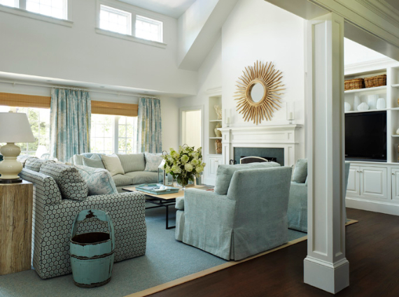 Interior Holiday Home Design In Blue Tones Family Holiday Net