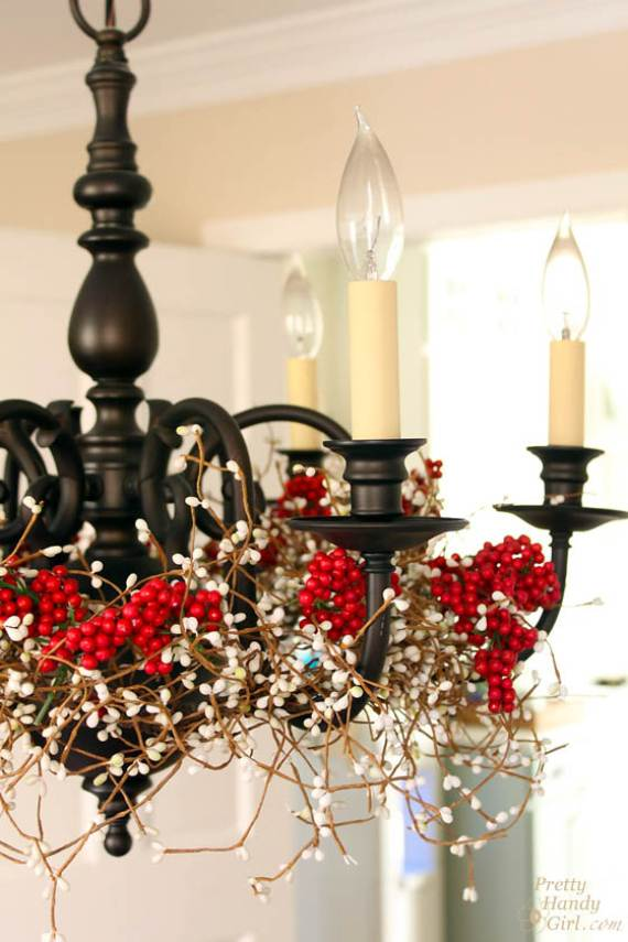 Christmas Pendant Lights And Chandeliers 1