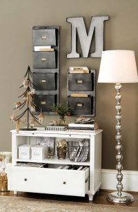 Stylish Home Office Christmas Decoration Ideas And ...
