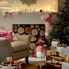 Decorate Small Living Room Compact Furniture Cozy Christmas And New Year From Laura Ashley - Family ...