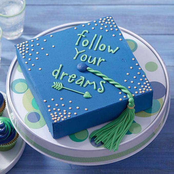 25 Simple But Creative Graduation Cakes And Cupcakes Family