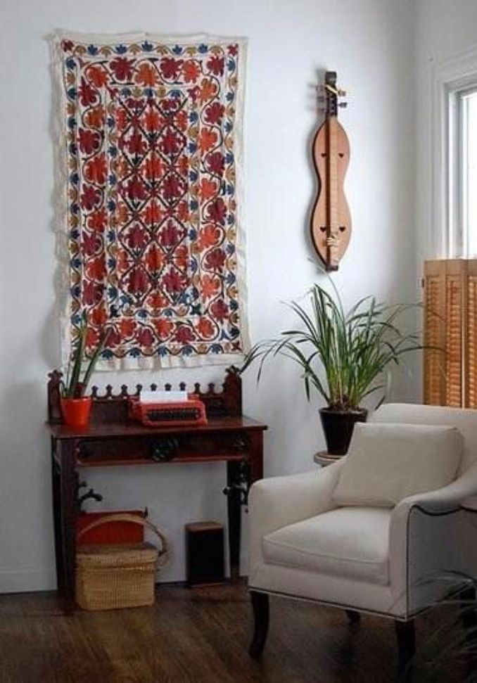 How to Turn a Rug Into a Wall Art Tapestry  family holidaynetguide to family holidays on the