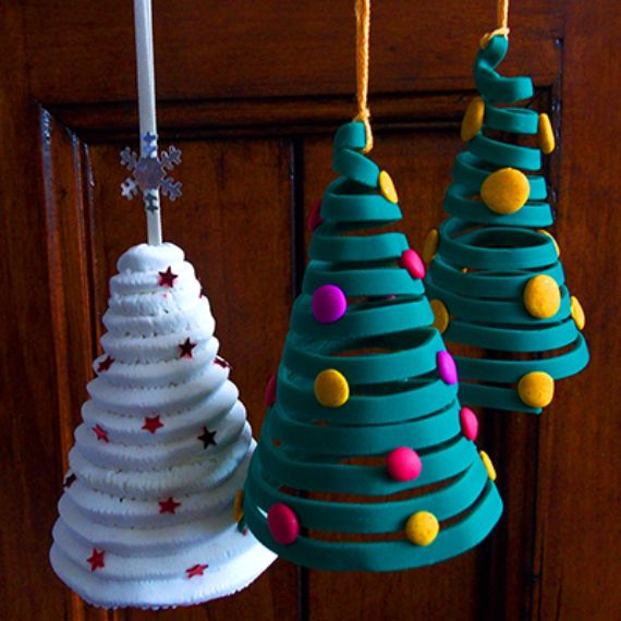 Homemade Polymer Clay For Christmas Decorations Family