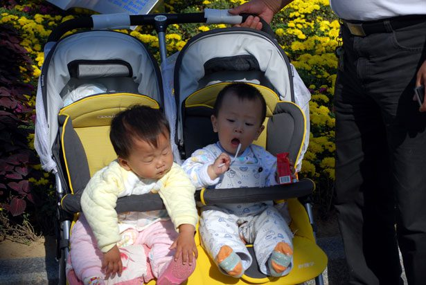 The best side by side double strollers for siblings to bond