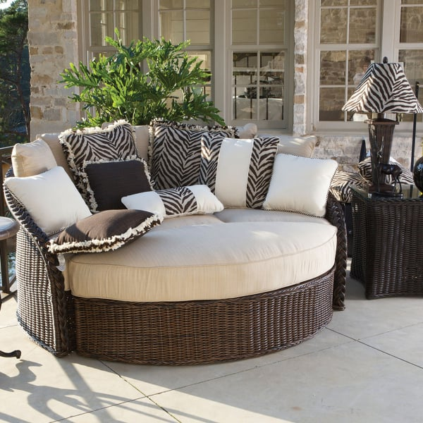 Sedona Wicker Daybed by Summer Classics  Outdoor Furniture