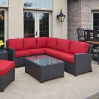 Cabo Wicker Sectional Set by North Cape International