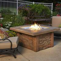 Sierra Fire Pit Table - Square