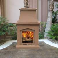 Chino Classic Wood Burning Outdoor Fireplace