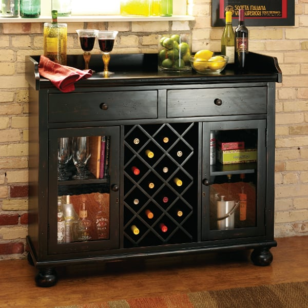 Cabernet Hills Wine  Bar Cabinet