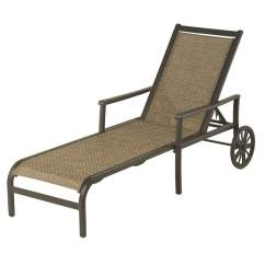 Sling Chaise Lounge Chair Material For Chairs To Recover Stratford