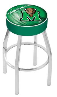 Marshall Counter Height Bar Stool w/ Official College Logo ...