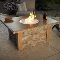 Sierra Fire Pit Table - Round Burner