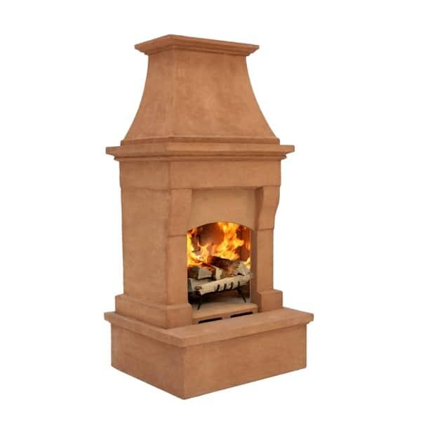 Oxford Wood Burning Outdoor Fireplace