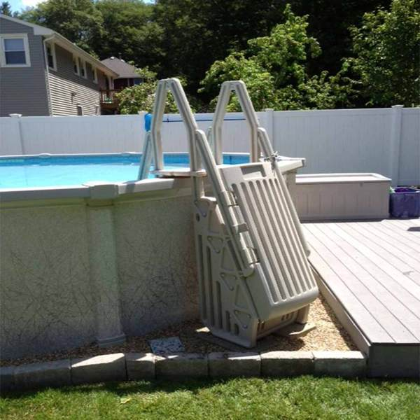 Neptune Step Ladder Above Ground Pool Entry System