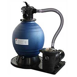 Pump and filter system