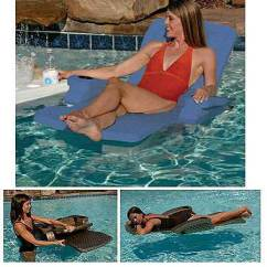 Lay Flat Recliner Chairs King Kong Folding Chair Unsinkable Adjustable Reclining Pool Lounger