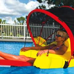 Swimming Pool Lounge Chairs Discount Amazon Outdoor River Rafting Cabriolet Lounger With Canopy