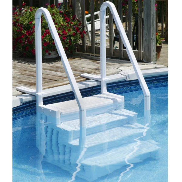 Easy Above Ground Swimming Pool Steps Bluewave