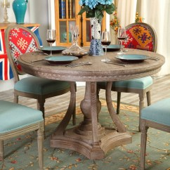 Steel Kitchen Table Decorating Ideas Modern Contemporary Round Wooden Dining Tables , ...