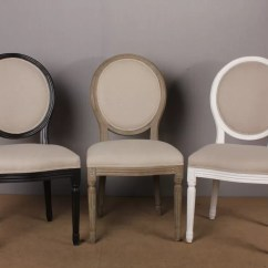 Brown Leather High Back Dining Chairs White Barber Chair Uk Luxury Vintage French Wooden Black Natural With Round