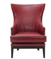 Upholstered Occasional Leather Living Room Chair ...