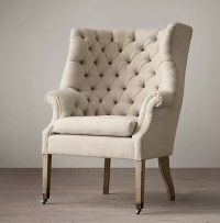 Wingback Tufted comfort chairs living room , oversized ...
