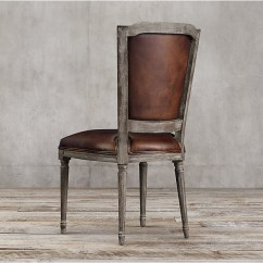 Cane Back Chairs For Sale Blue Velvet Accent Chair Top Grain Dark Brown Leather Dining / Studded