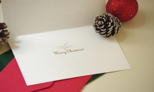 恋人に贈るクリスマスのメッセージカードに書く定番の無料例文