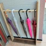 外玄関用の傘立ての作り方|家にあった木材で簡単DIY