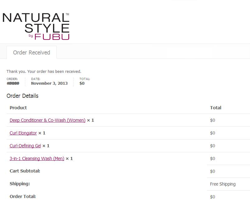 Free Sample of Natural Style by Fubu