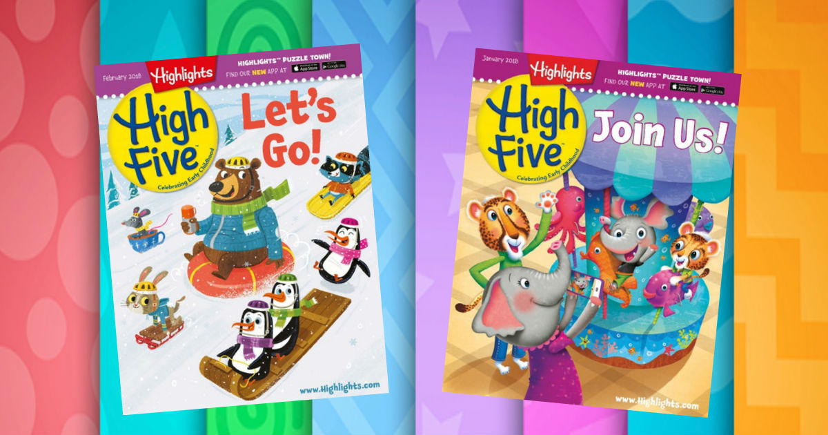 Subscription to Highlights High Five Magazine just $29.99! - FamilySavings