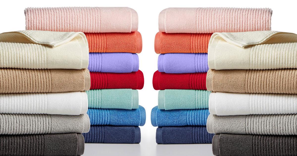 Macys  Martha Stewart Quick Dry Reversible Towels just