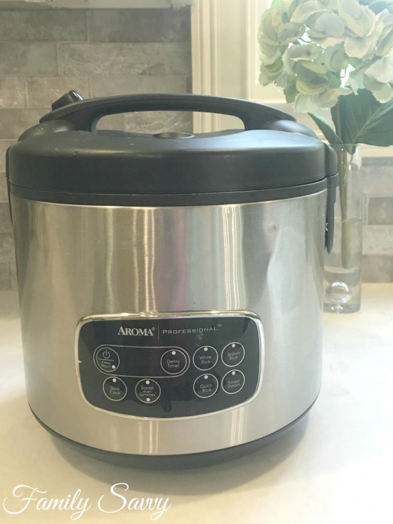 The Aroma Rice Cooker My Favorite Kitchen Workhorse