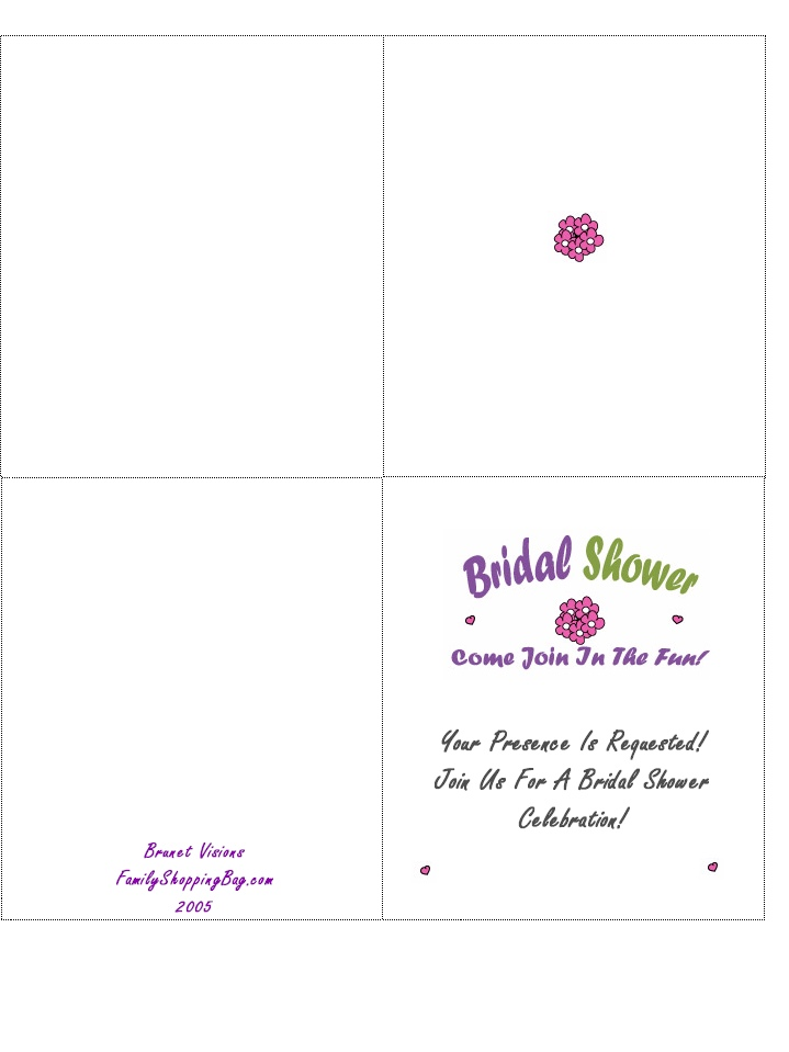 Printable Wedding Invitation Card Template Designs