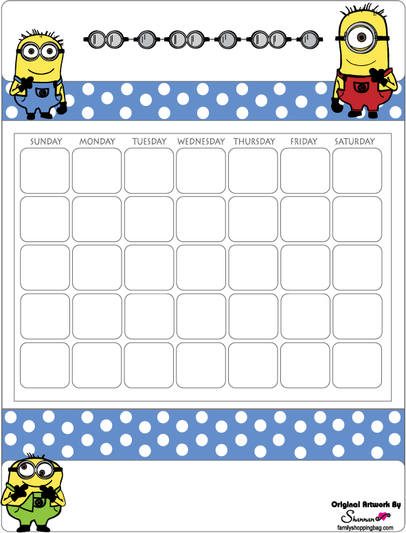 Calendar Activities Printables : Free printables and activities from the animated movie