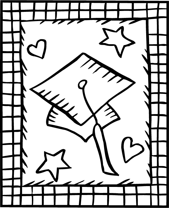 GRADUATION COLORING PICTURE « Free Coloring Pages