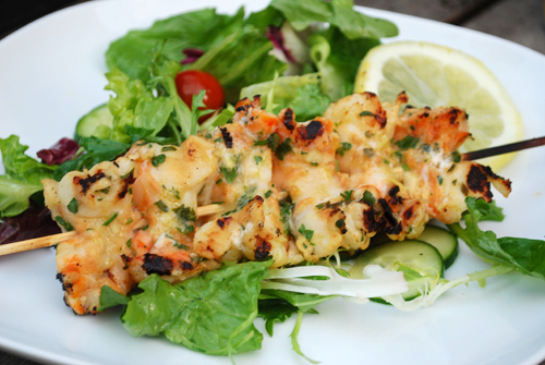 Grilled Herb Shrimp by FamilySpice.com