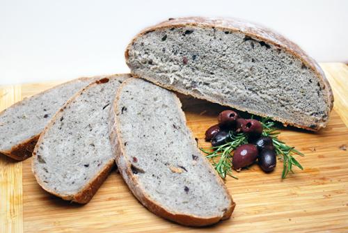 Kalamata Olive Rosemary Bread by FamilySpice.com