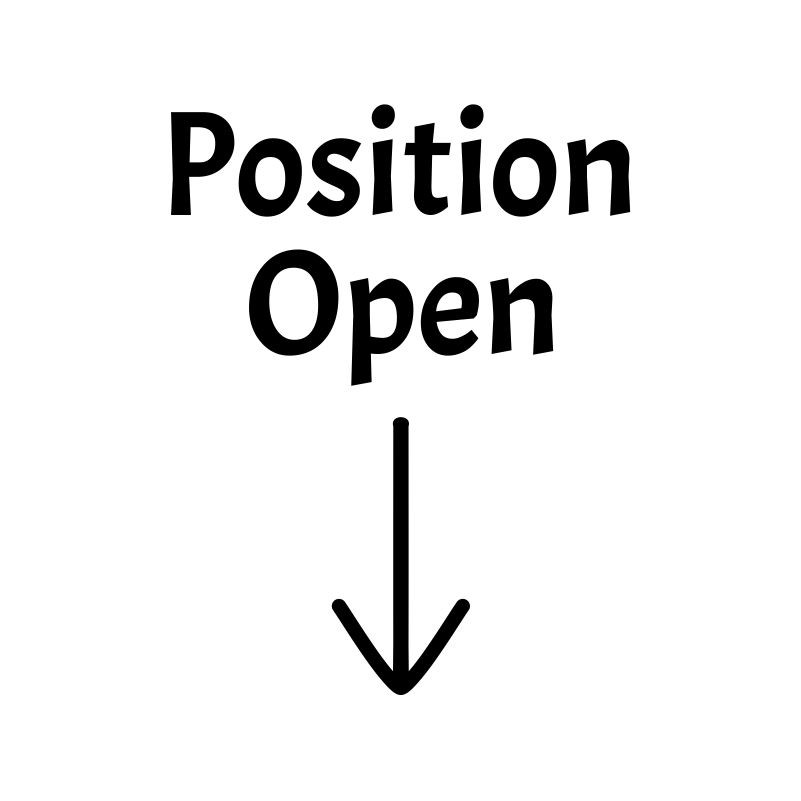 Position Open Stickers