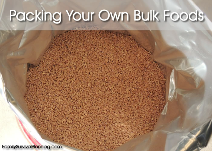 How To Pack Your Own Bulk Food In Buckets And Containers