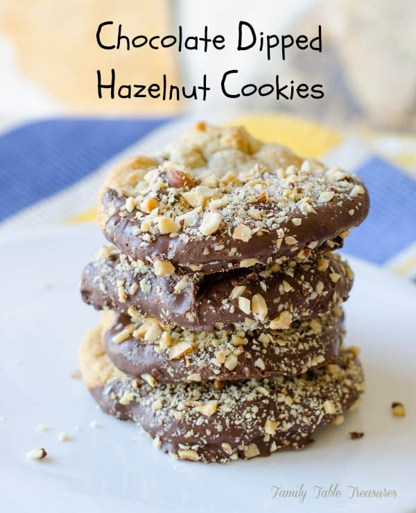 Hazelnut Cookies - Family Table Treasures